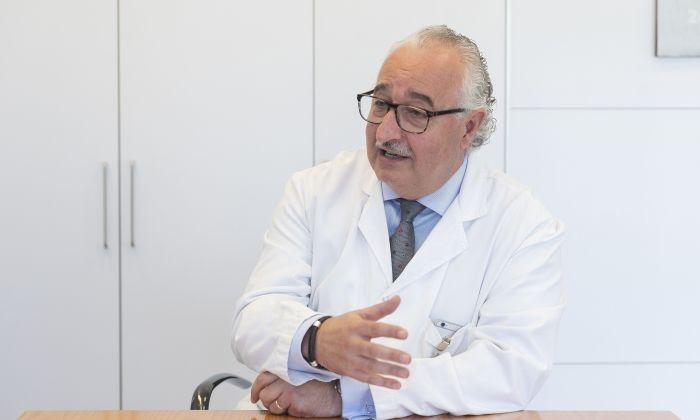 Ramon Cunillera, durant l'entrevista. Fotos: R. Gallofré