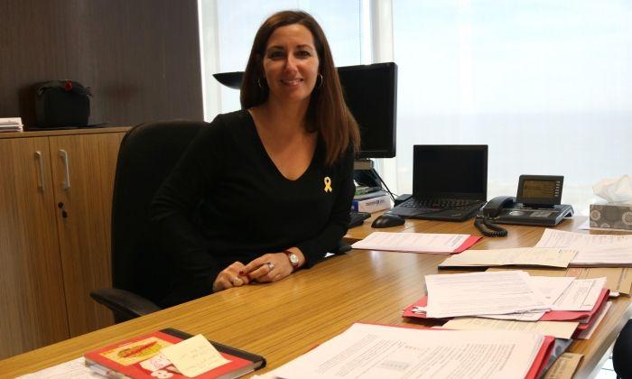 La secretària d'atenció a la Infància, Adolescència i Joventut, Georgina Oliva. Foto: ACN