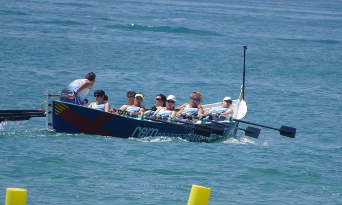 La tripulació mataronina en acció. Foto: Albert Corts