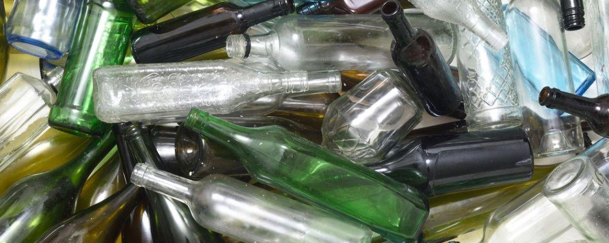 Reciclatge d'ampolles de vidre
