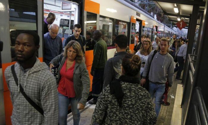 Imatge d'arxiu de l'Estació de Rodalies de Mataró. Foto: ACN