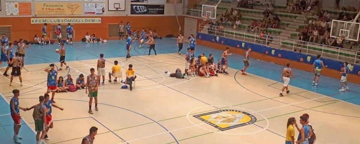3x3 Bàsquet a Valldemia, en l'edició de 2018