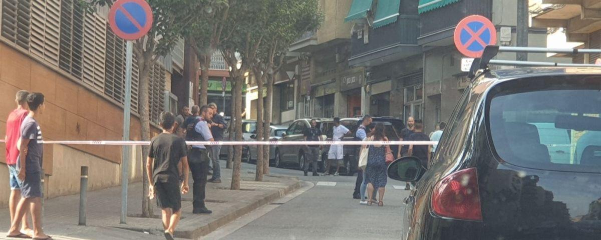 El lloc del tiroteig. Foto: Raúl Yeste / Cerdanyola Directo