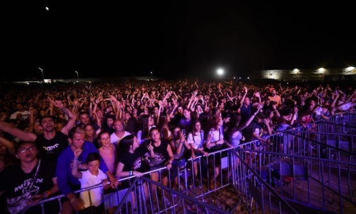 El públic assistent al concert de Dissantes. Foto: Albert Canalejo