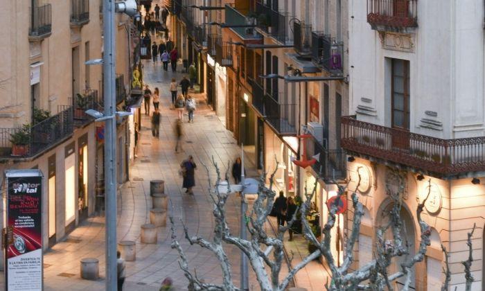 El carrer Barcelona. Foto: R.Gallofré