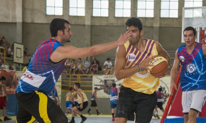 Torneig 3x3 de bàsquet Les Santes 2019. Foto:  Joan Buch