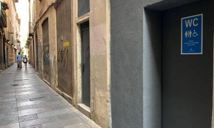 Els lavabos de Can Cruzate. Foto: Ajuntament de Mataró