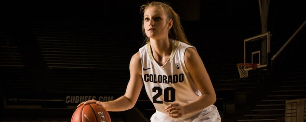 Alina Hartmann va jugar a Colorado.