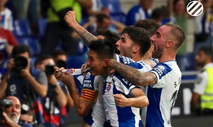 L'Espanyol va guanyar el partit d'anada per 3 a 1. Foto: rcdespanyol.com