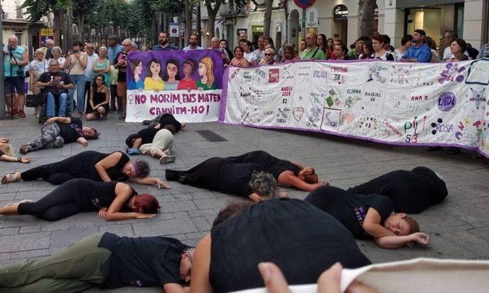 Un moment de la manifestació. Foto: Montse Álvarez Mela