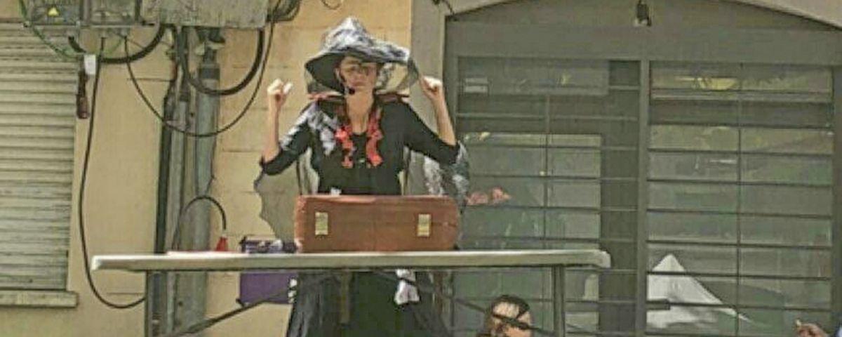 """""""La bruixeta poruga"""", de Mima Teatre"""