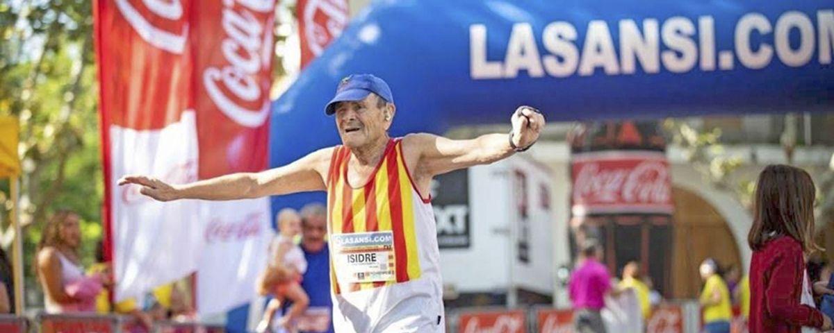 Ferrer, durant una cursa. Foto: cedida