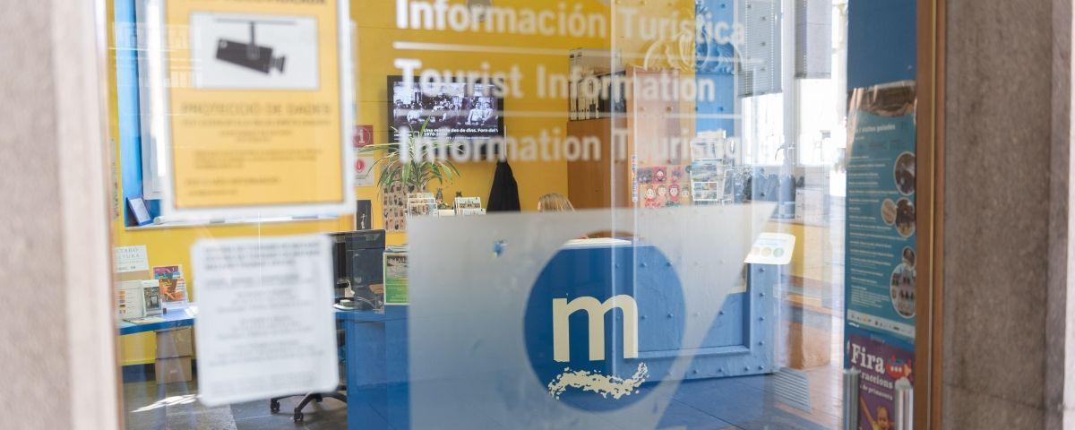 L'oficina de turisme a l'ajuntament de Mataró. Foto: Arxiu