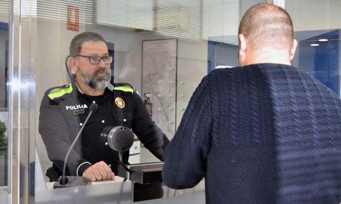 Policia Local de Sant Vicenç de Montalt. Foto: Ajuntament