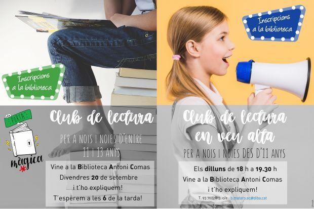 Clubs de lectura per a joves