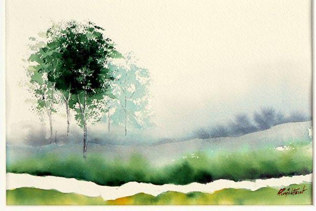 Albert Pujol. Pintures i aquarel·les