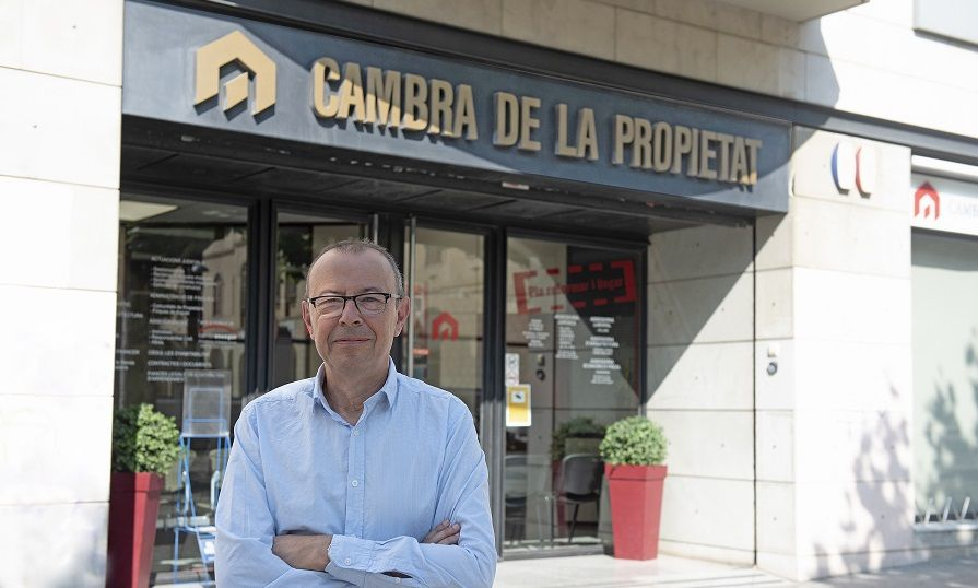 Antoni Martí, secretari de la Cambra de la Propietat.