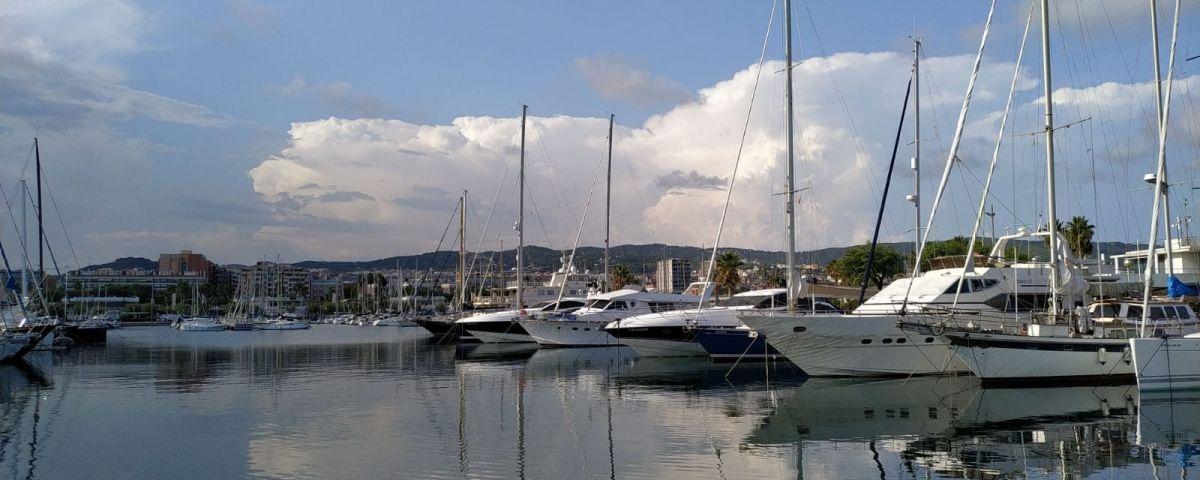 Vista del Port de Mataró