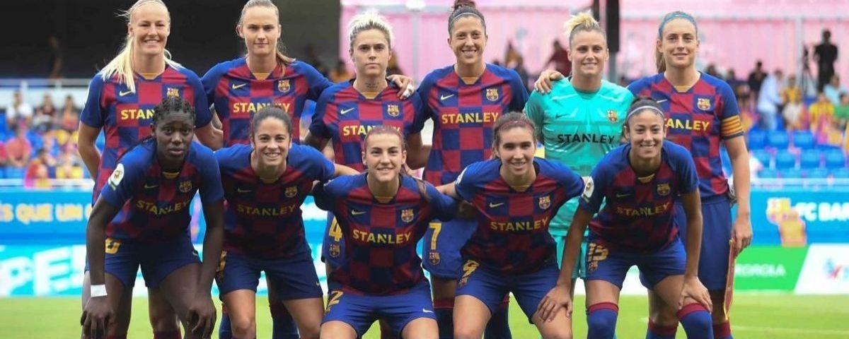 L'onze del Barça que va superar l'Atlètic. Foto: fcbarcelona.cat