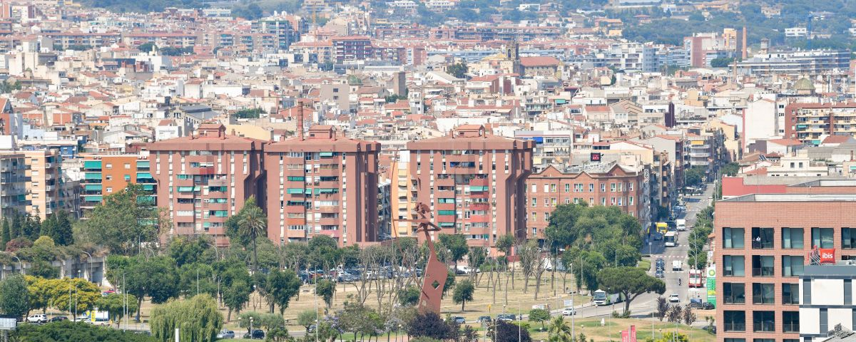 Vista de Mataró des del Pla d'en Boet. Foto: R. G.