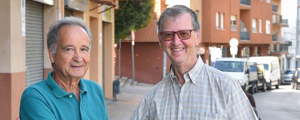 Manuel Molina i Miguel López. Foto: R. G.