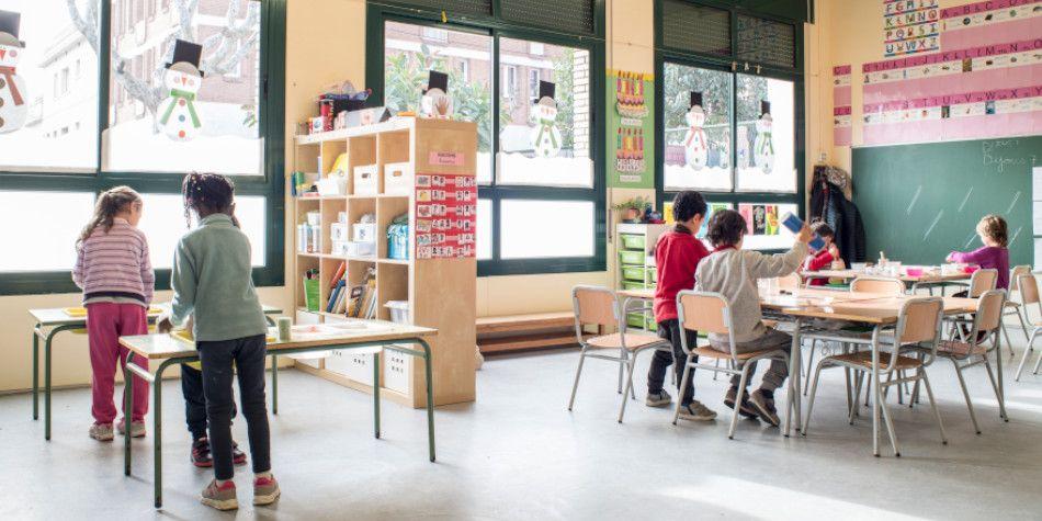 L'escola Sant Cristòfol. Foto: Ajuntament de Premià de Mar
