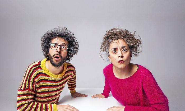 El duet Ual·la, integrat per Modesto Lai i Alba Rubió