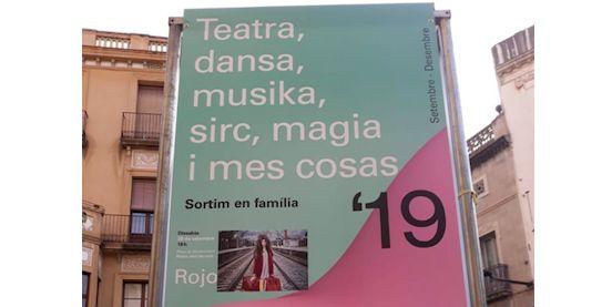 Un cartell de la campanya