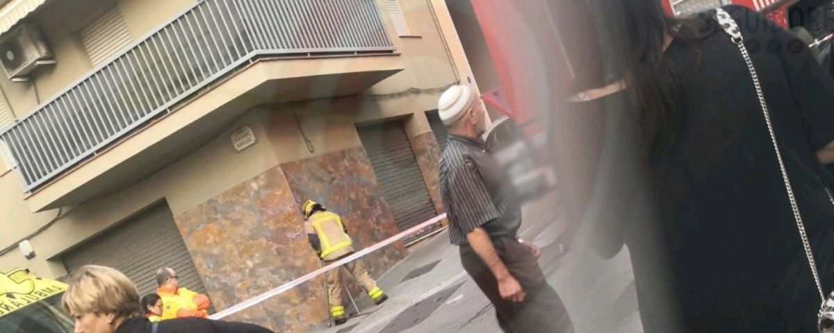 L'immoble on s'ha produït el foc. Foto: Cerdanyola Directo