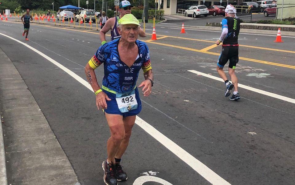 Toni Noé a la cursa de Hawaii.