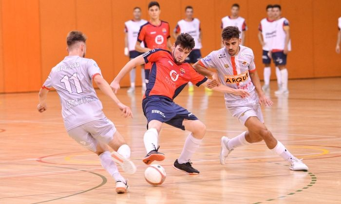 Futbol sala Futsal Mataró - Manresa. Foto: R.Gallofré