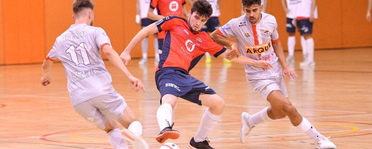 Un partit del Futsal Mataró a casa. Foto: R.Gallofré
