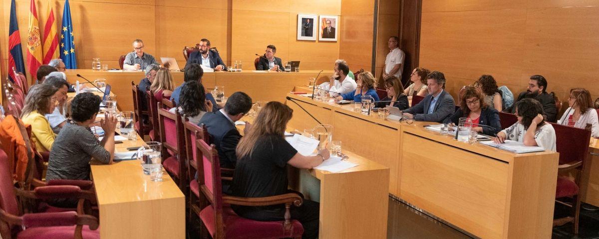 Imatge del ple municipal. Foto: R.Gallofré