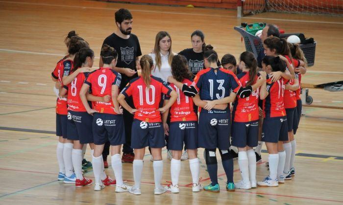 L'equip en un partit de la temporada.
