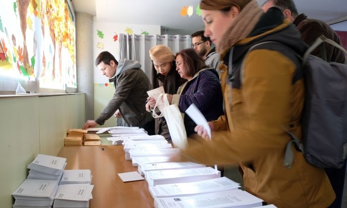 Eleccions Generals 10 novembre. Foto: C.Francés