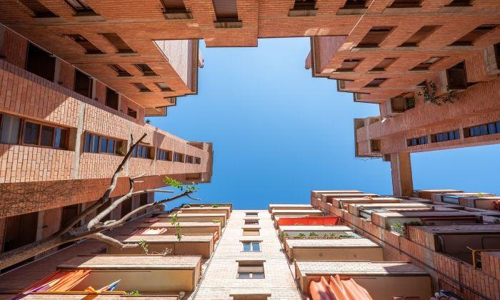 Un exemple de la peculiar arquitectura de Rocafonda
