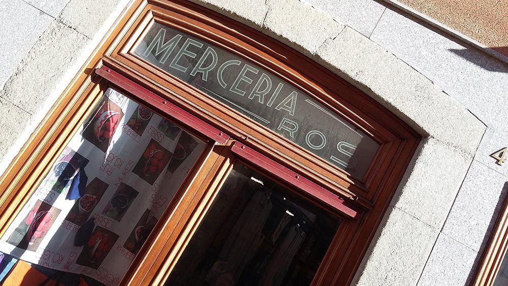 Merceria Ros. Foto: Enric Ortega / Museu al Carrer
