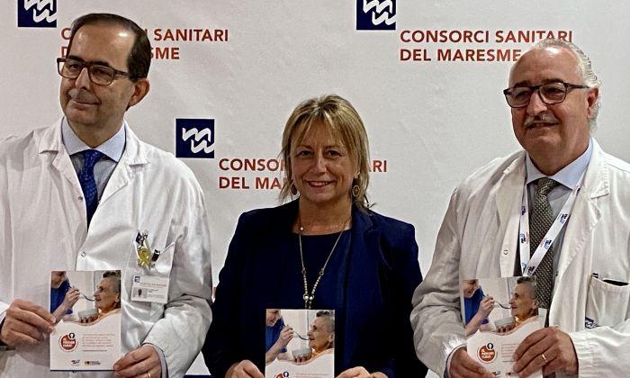 Presentació de la campanya. Foto: Hospital de Mataró