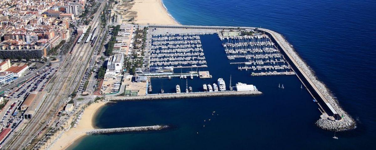Vista aèria del Port de Mataró. Foto: Consorci del Port de Mataró