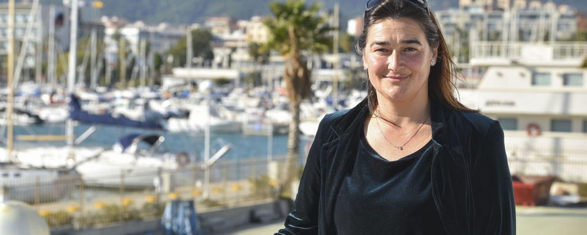 La gerent del Port, Margarita Díez