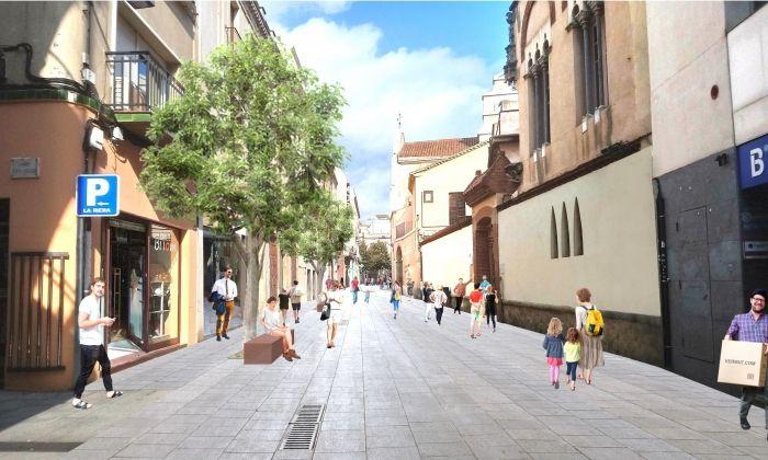 El carrer Sant Josep es convertirà en exclusiu per a vianants