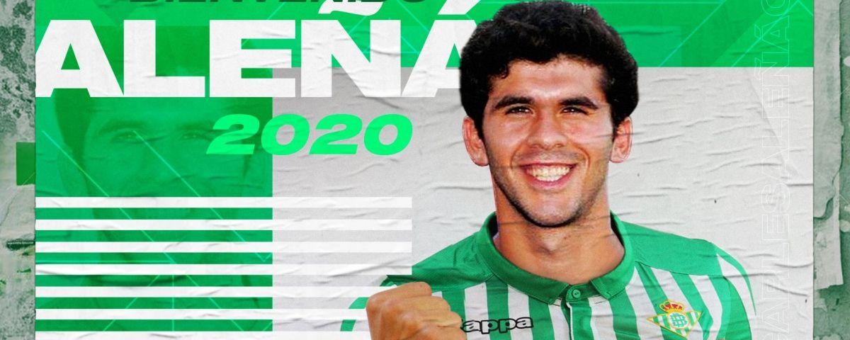 Aleñá, cedit al Betis. Foto: Real Betis.