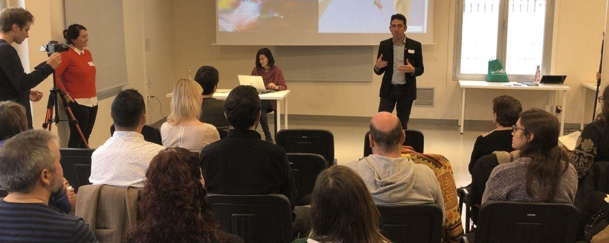 Sessió de cloenda d'aquesta edició del projecte. Foto: Ajuntament