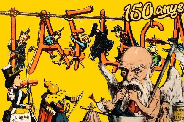 150 anys de La Flaca. La premsa satírica al s. XIX