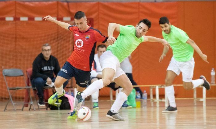 Un partit del Futsal Aliança Mataró d'aquesta temporada.