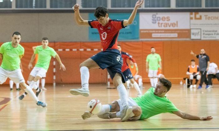 Un partit del Futsal Aliança d'aquesta temporada. Foto: R.Gallofré