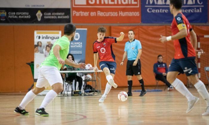 Un partit del Futsal Aliança Mataró a casa.
