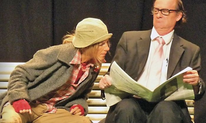 L'espectacle 'Clochard', de la companyia Grappa Teatre