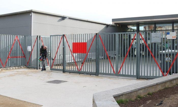 Una escola a Mataró, dilluns passat. Foto: ACN