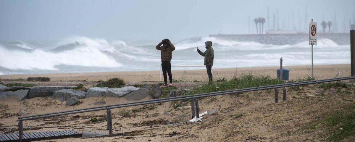 Espigó de la platja del Callao. Foto: R.Gallofré